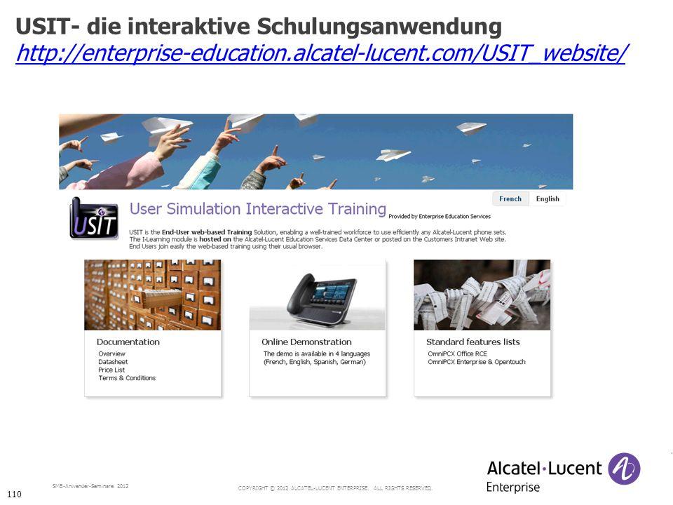 USIT- die interaktive Schulungsanwendung