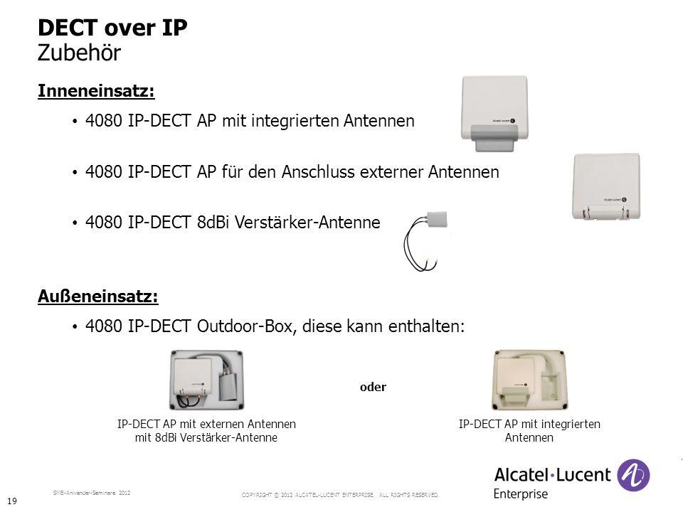 DECT over IP Zubehör Inneneinsatz:
