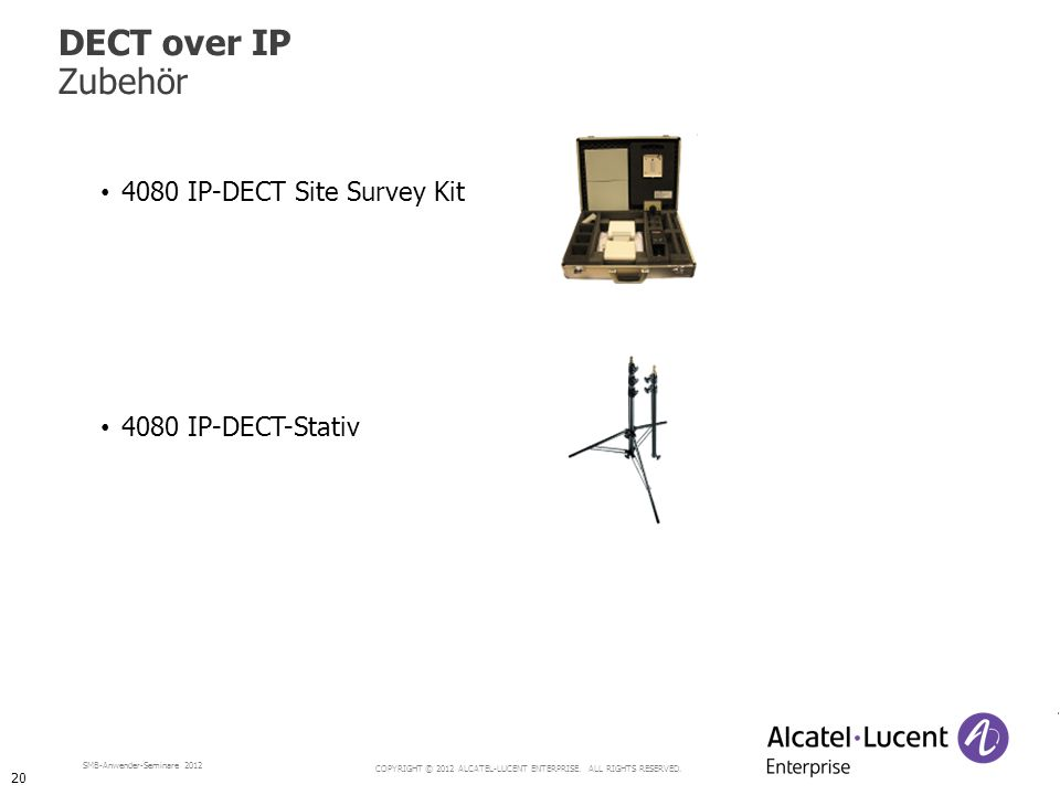 DECT over IP Zubehör 4080 IP-DECT Site Survey Kit 4080 IP-DECT-Stativ