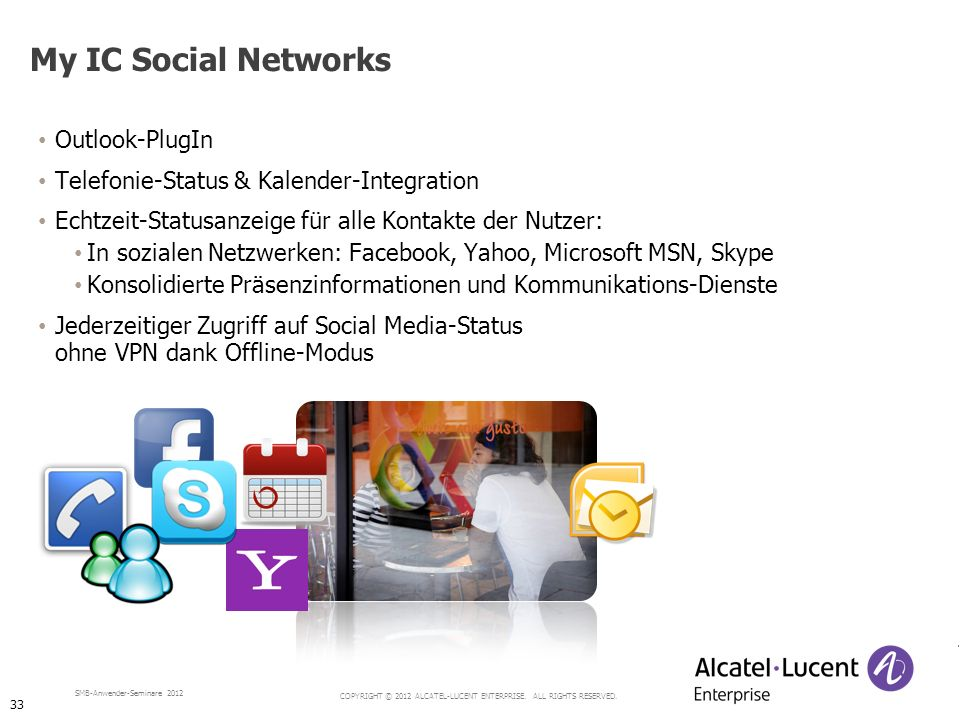 My IC Social Networks Outlook-PlugIn