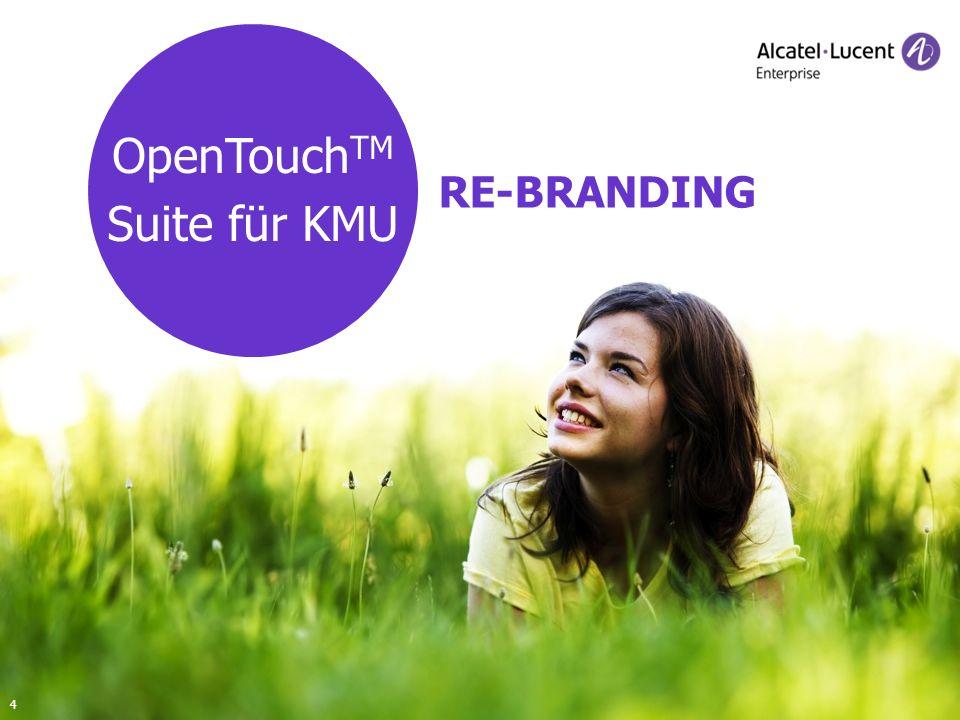 OpenTouchTM Suite für KMU RE-BRANDING 4