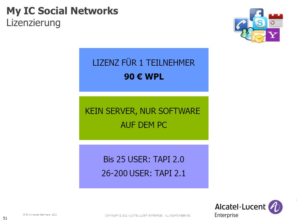 KEIN SERVER, NUR SOFTWARE