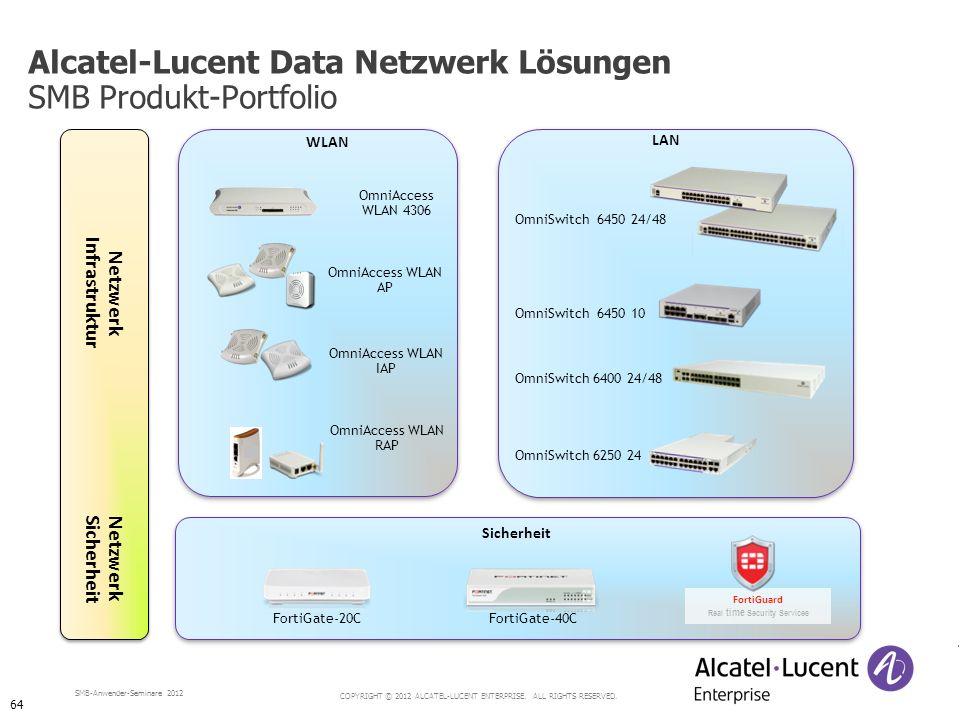 Alcatel-Lucent Data Netzwerk Lösungen SMB Produkt-Portfolio