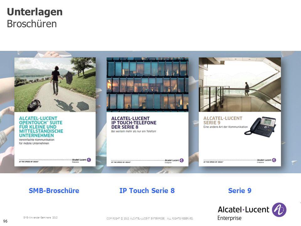 Unterlagen Broschüren SMB-Broschüre IP Touch Serie 8 Serie 9 96