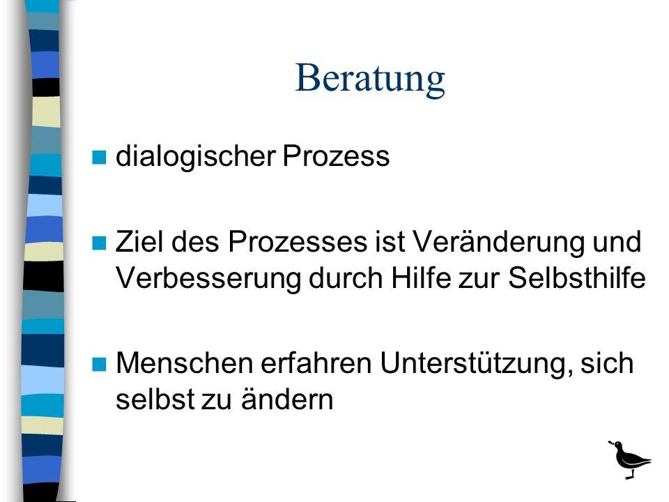 Beratung dialogischer Prozess