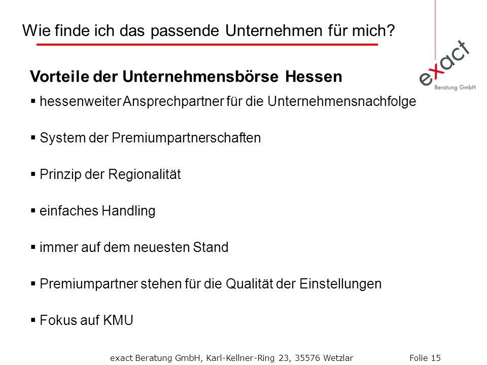Vorteile der Unternehmensbörse Hessen