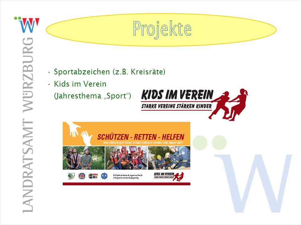 Projekte Projekte Sportabzeichen (z.B. Kreisräte)