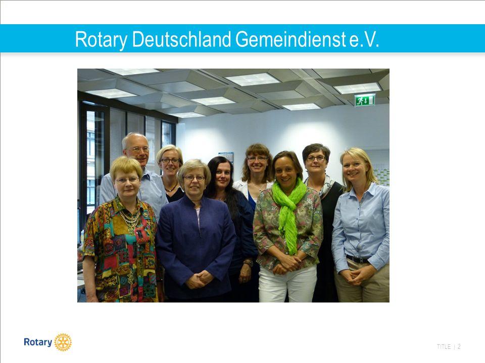 Rotary Deutschland Gemeindienst e.V.