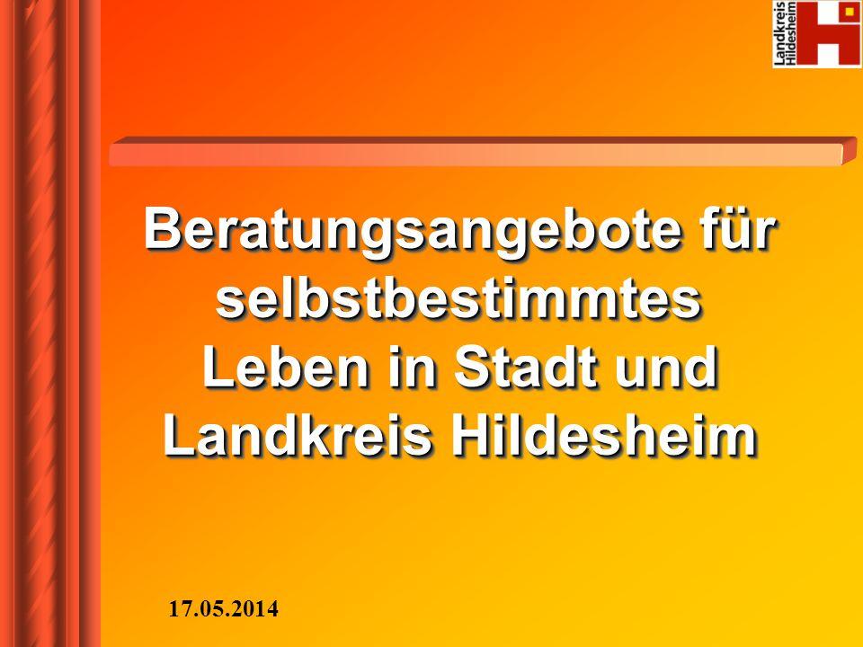 Beratungsangebote für selbstbestimmtes Leben in Stadt und Landkreis Hildesheim