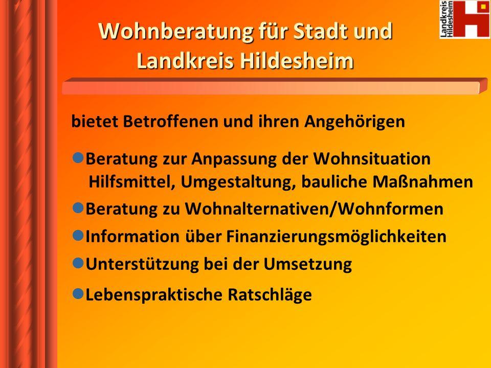 Wohnberatung für Stadt und Landkreis Hildesheim