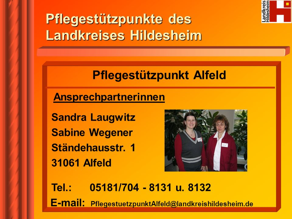Pflegestützpunkt Alfeld