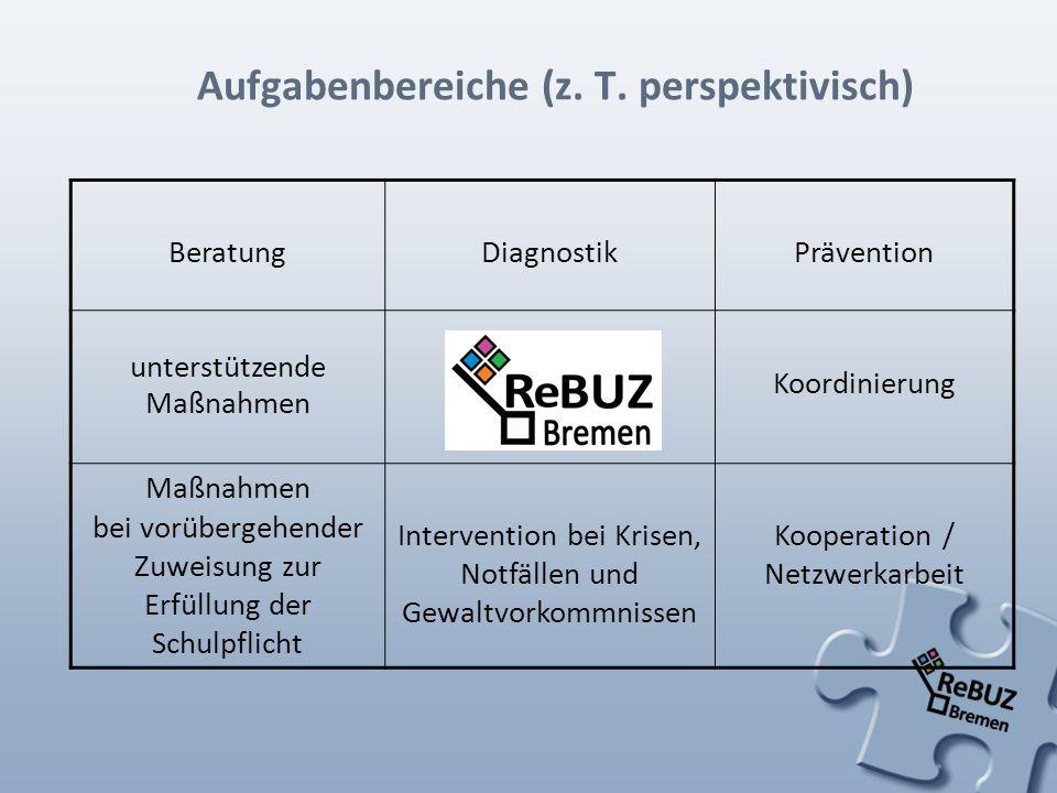 Aufgabenbereiche (z. T. perspektivisch)