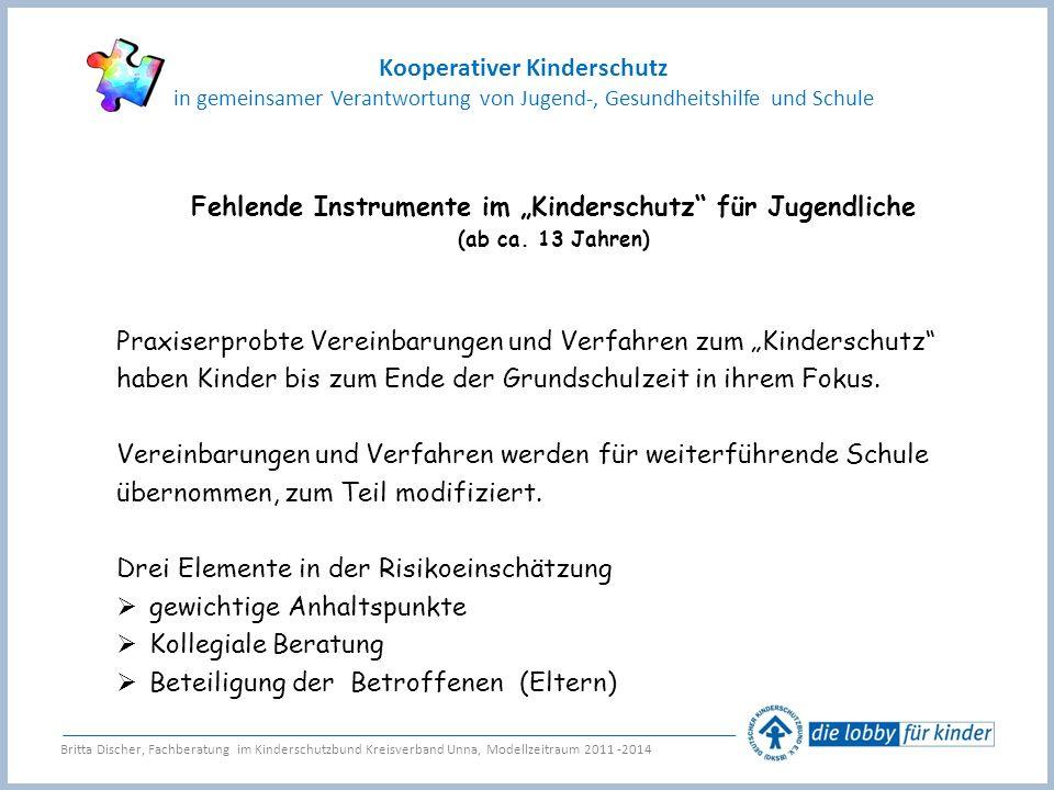 """Fehlende Instrumente im """"Kinderschutz für Jugendliche"""