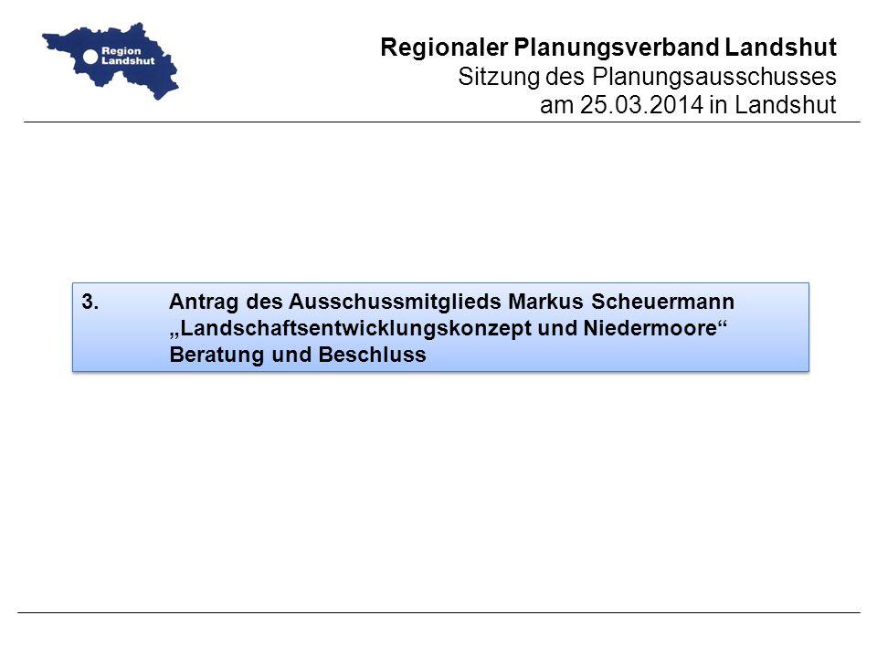 3. Antrag des Ausschussmitglieds Markus Scheuermann