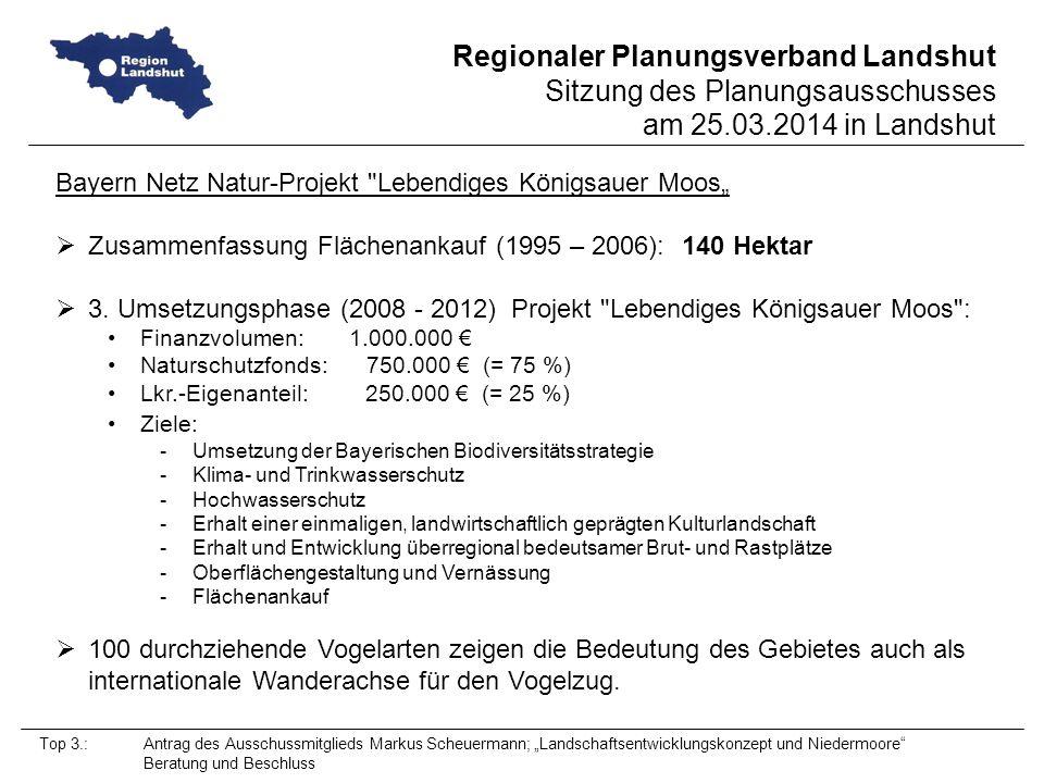 """Bayern Netz Natur-Projekt Lebendiges Königsauer Moos"""""""