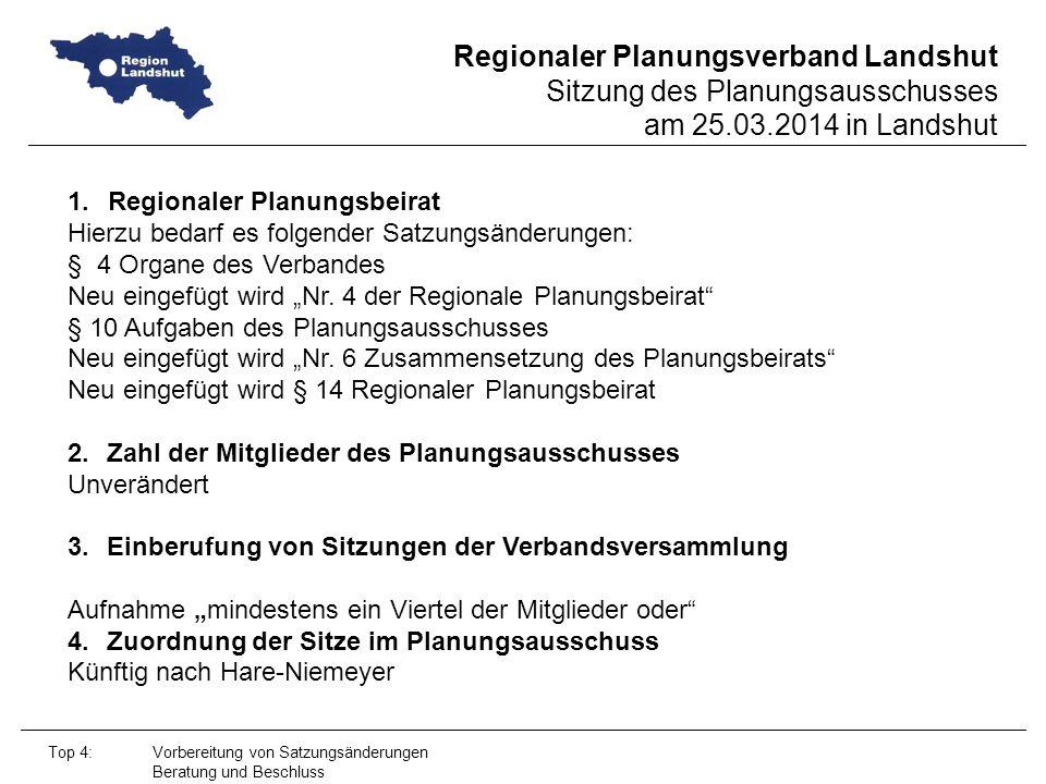Regionaler Planungsbeirat