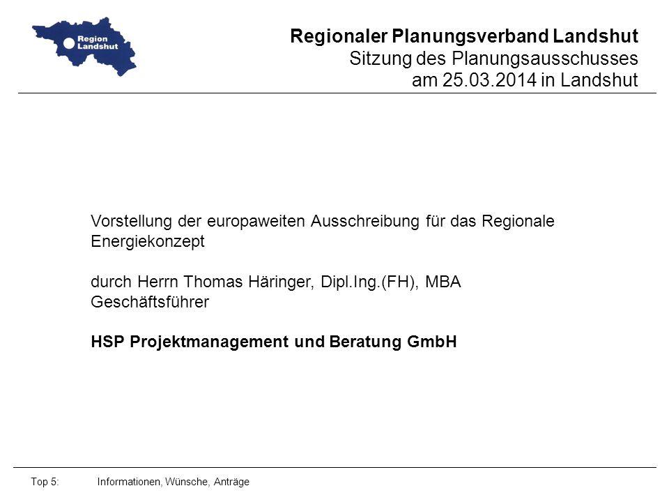 durch Herrn Thomas Häringer, Dipl.Ing.(FH), MBA Geschäftsführer