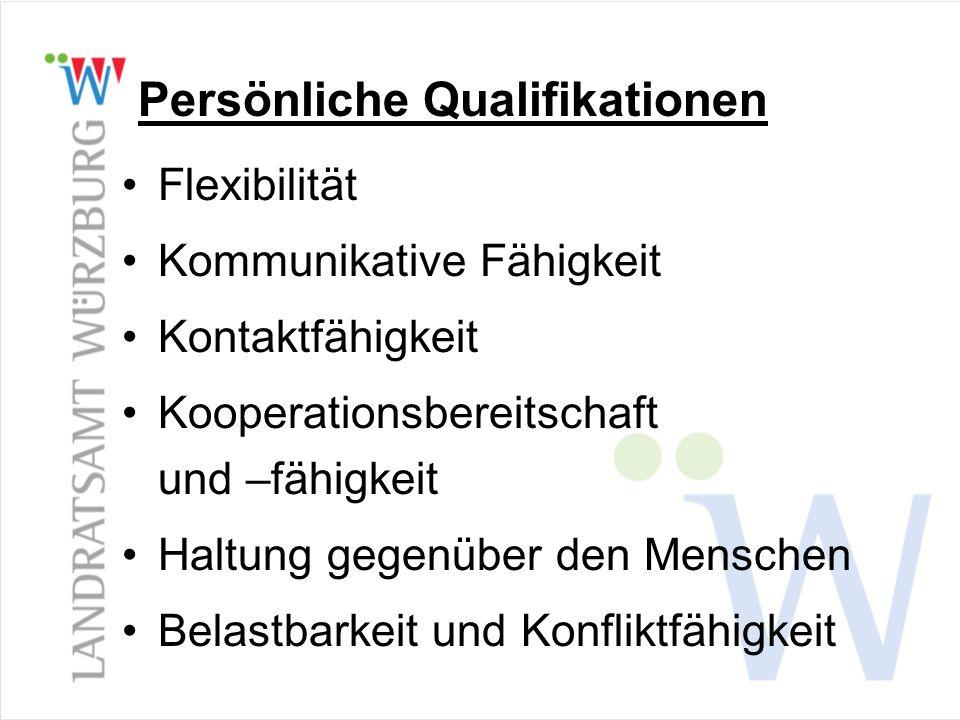 Persönliche Qualifikationen
