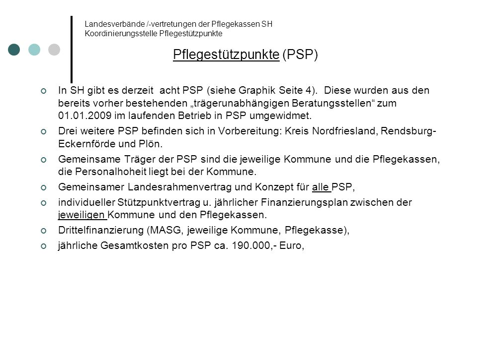 Pflegestützpunkte (PSP)
