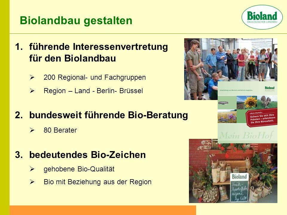 Biolandbau gestalten führende Interessenvertretung für den Biolandbau
