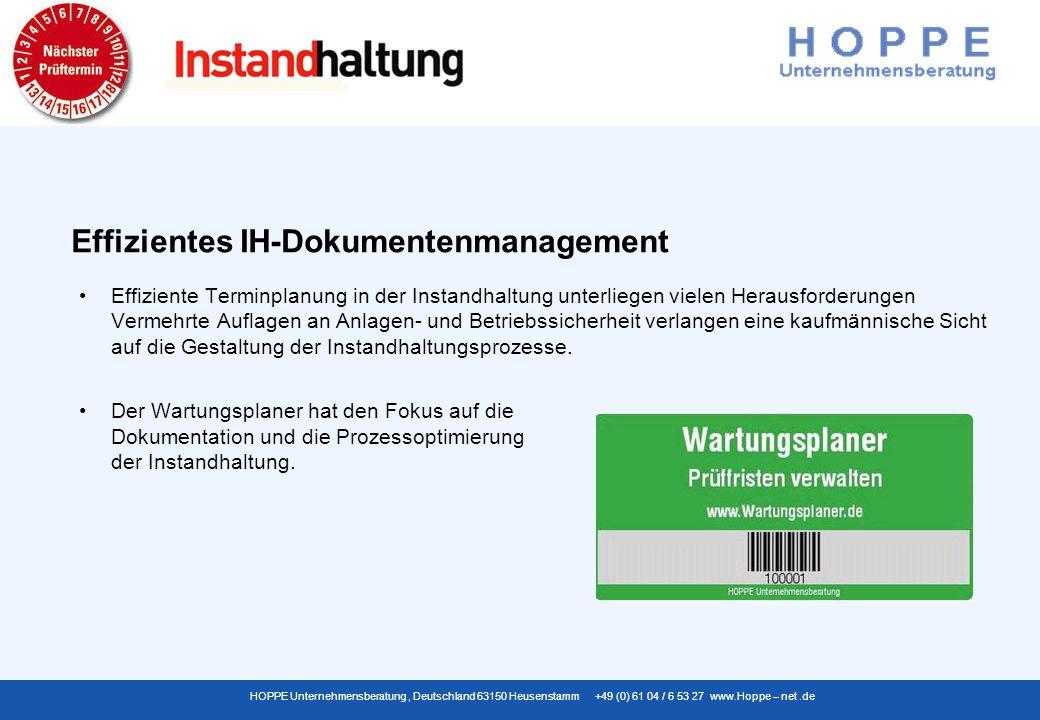 Effizientes IH-Dokumentenmanagement