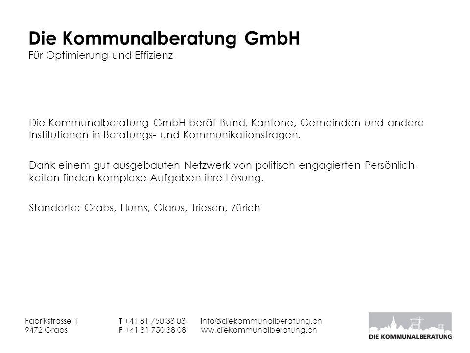 Die Kommunalberatung GmbH Für Optimierung und Effizienz