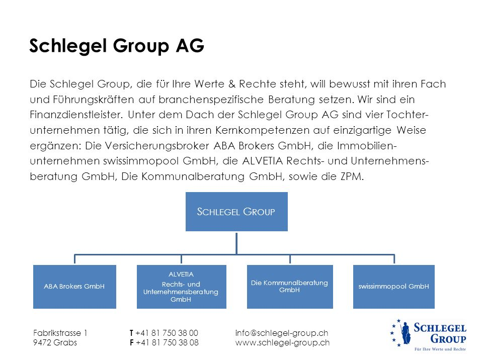 Schlegel Group AG