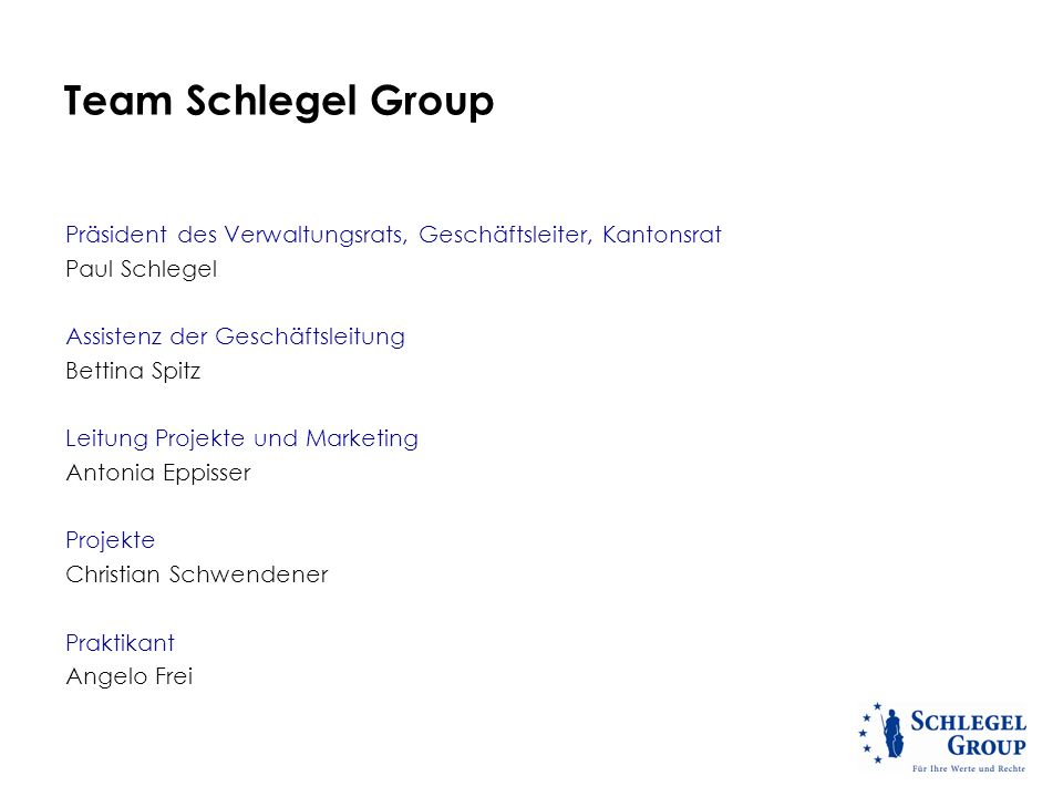 Team Schlegel Group