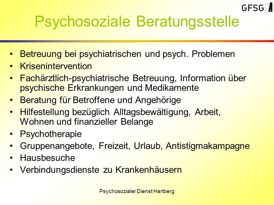 Psychosoziale Beratungsstelle