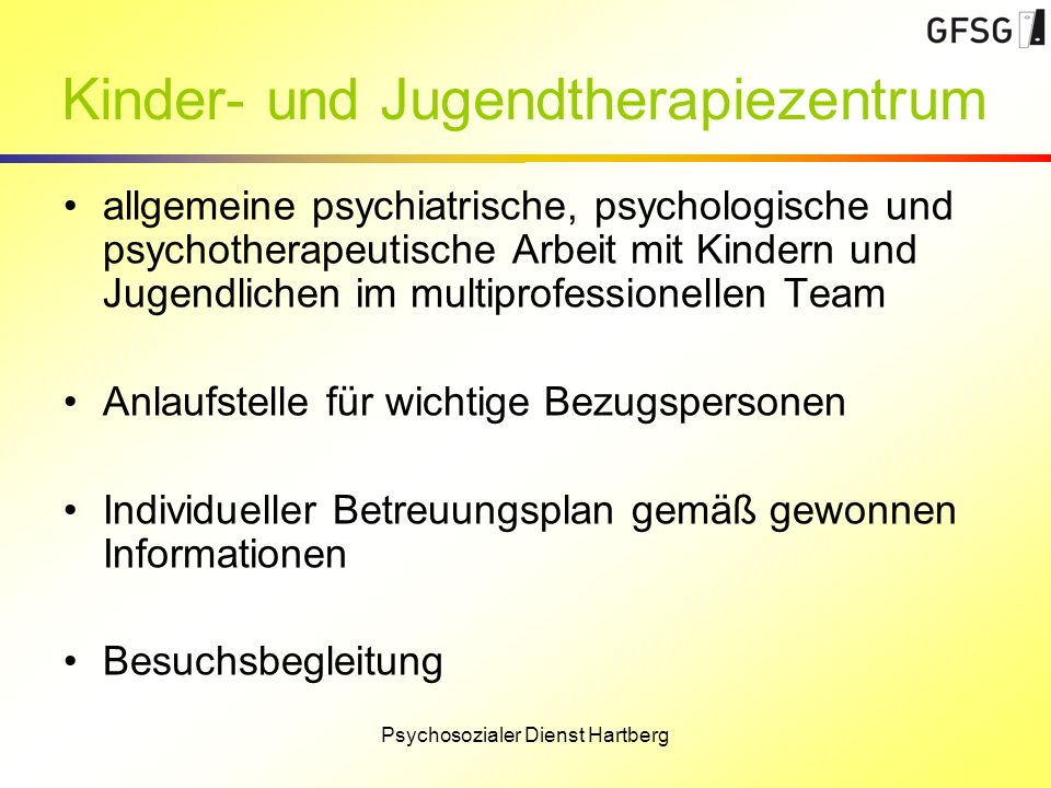 Kinder- und Jugendtherapiezentrum