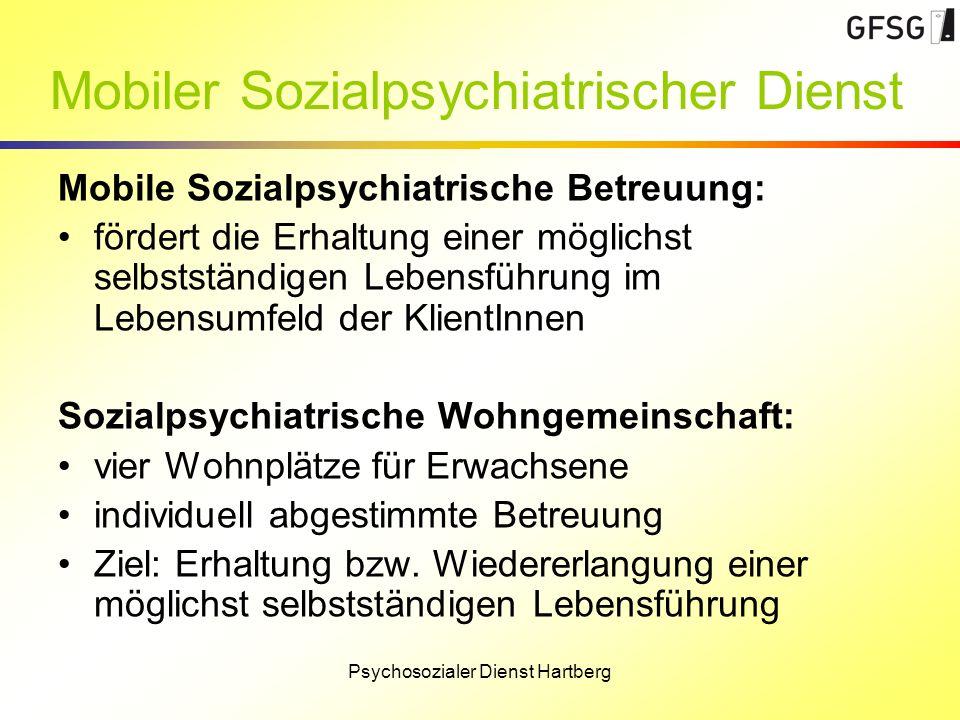 Mobiler Sozialpsychiatrischer Dienst