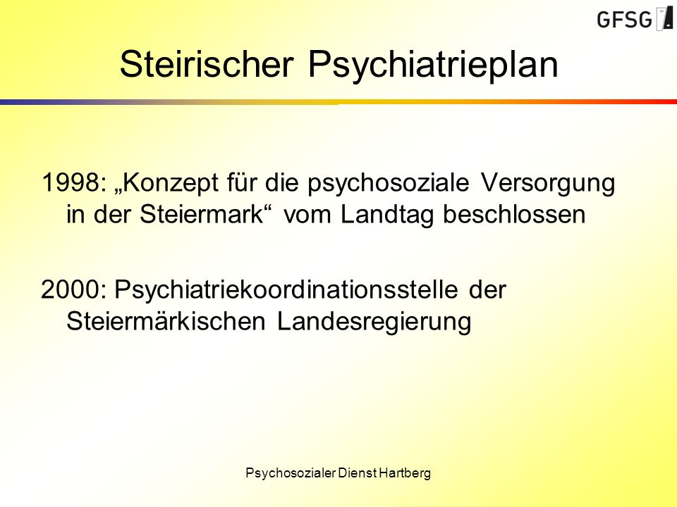 Steirischer Psychiatrieplan