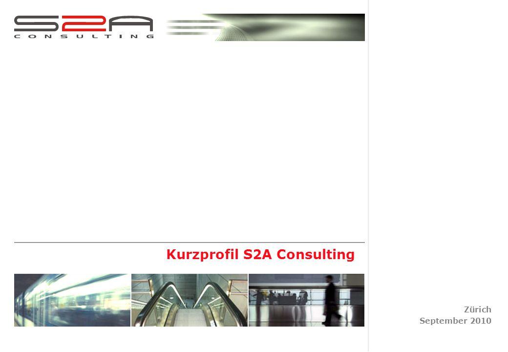 Kurzprofil S2A Consulting