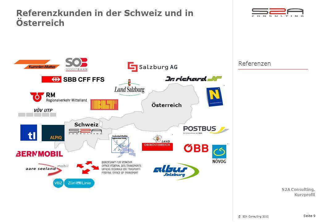 Referenzkunden in der Schweiz und in Österreich