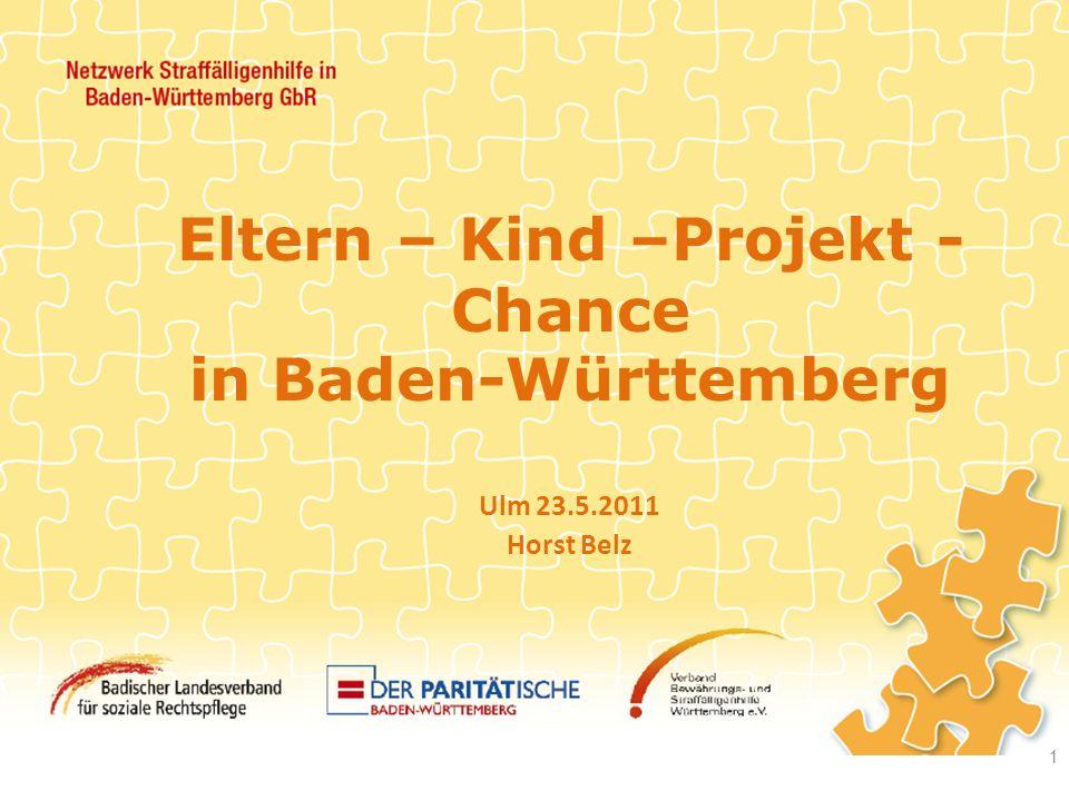 Eltern – Kind –Projekt - Chance in Baden-Württemberg