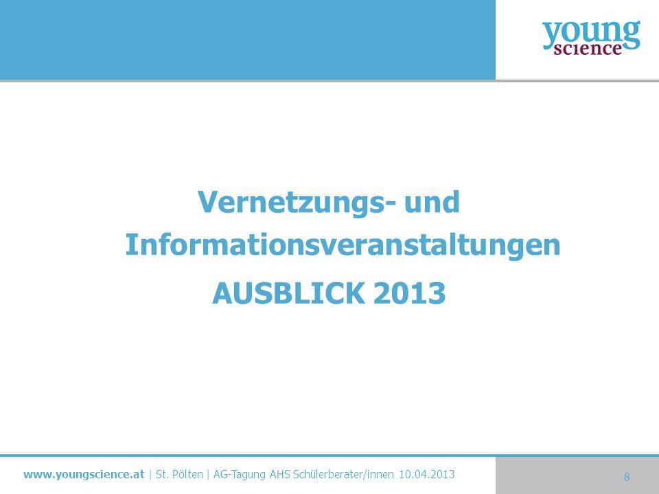 Vernetzungs- und Informationsveranstaltungen