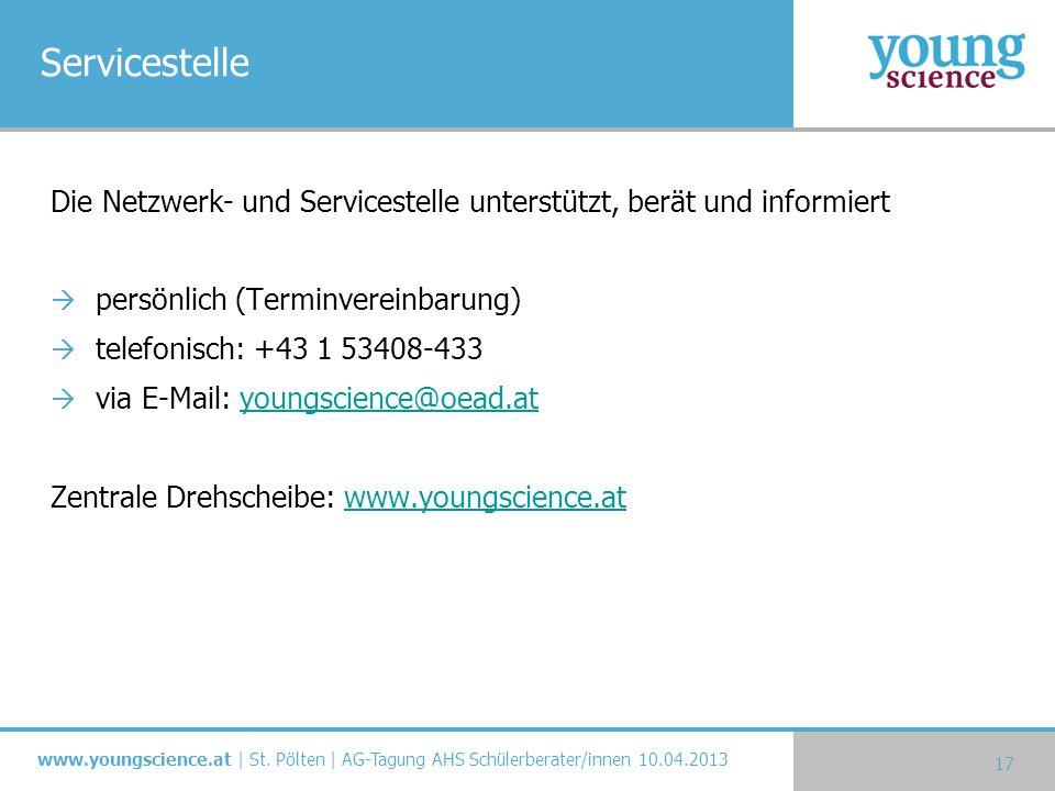 Servicestelle Die Netzwerk- und Servicestelle unterstützt, berät und informiert. persönlich (Terminvereinbarung)