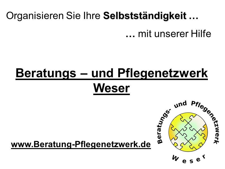 Beratungs – und Pflegenetzwerk Weser
