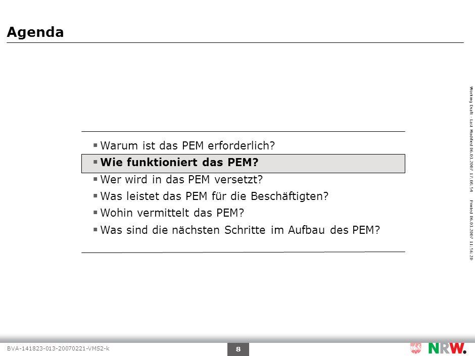 Wie funktioniert das PEM – Übersicht Funktionsweise PEM