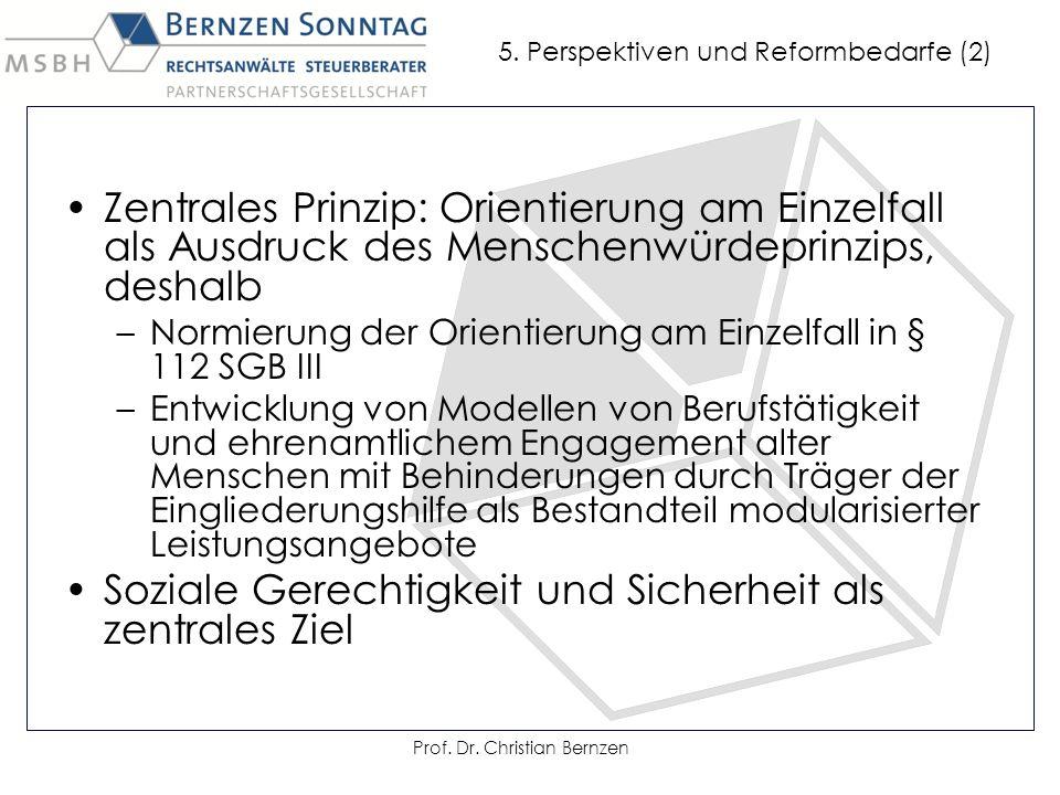 Prof. Dr. Christian Bernzen