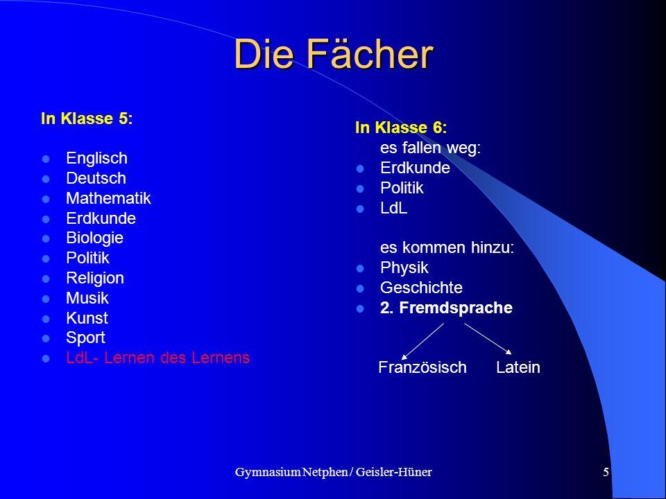 Gymnasium Netphen / Geisler-Hüner