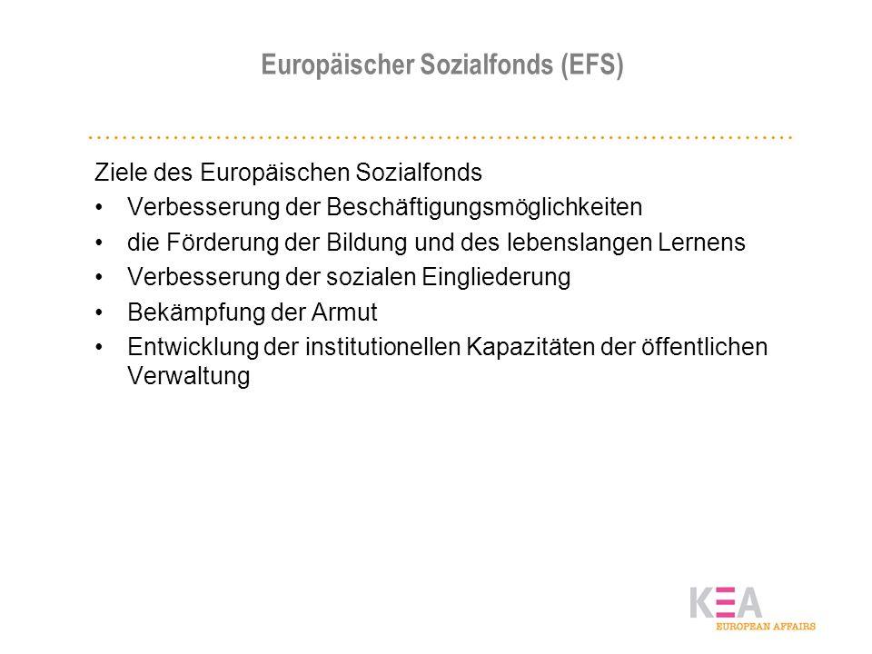 Europäischer Sozialfonds (EFS)