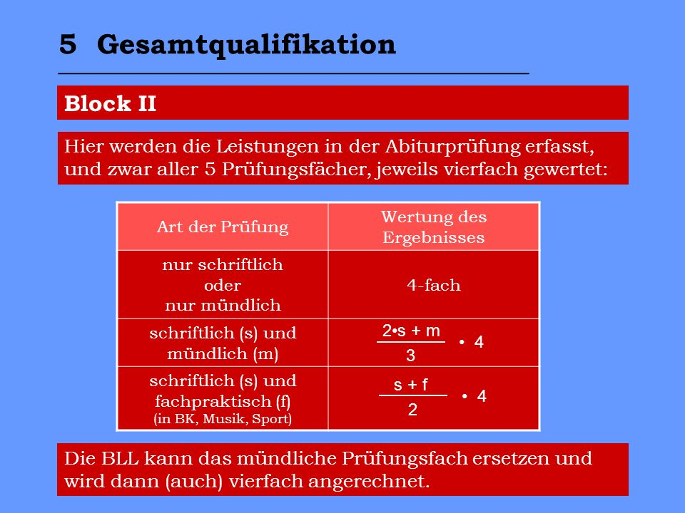 5 Gesamtqualifikation _________________________________