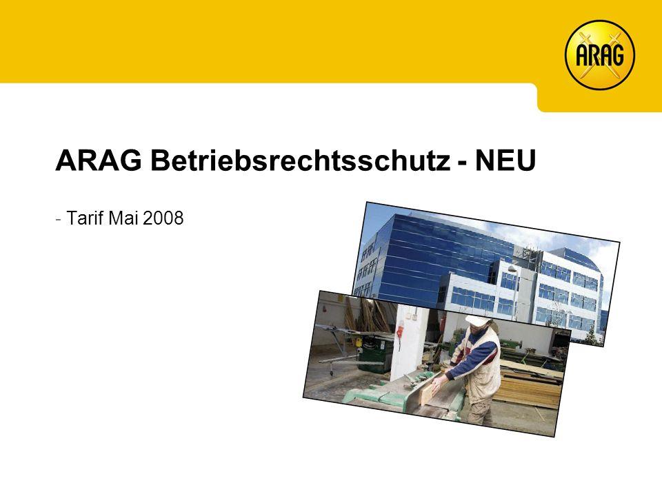 ARAG Betriebsrechtsschutz - NEU