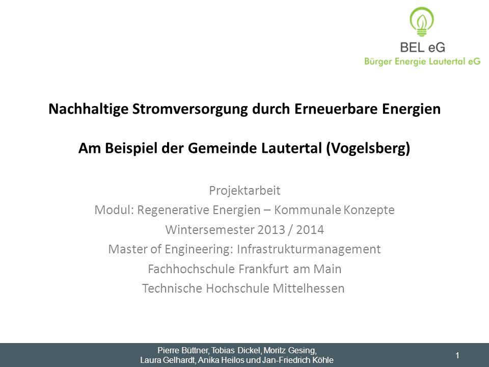 Nachhaltige Stromversorgung durch Erneuerbare Energien