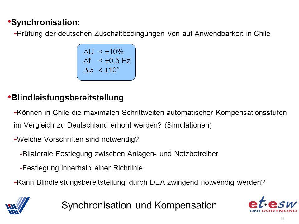 Synchronisation und Kompensation