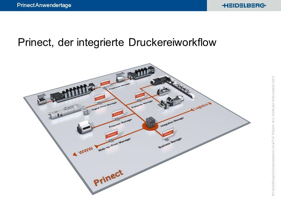 Prinect, der integrierte Druckereiworkflow
