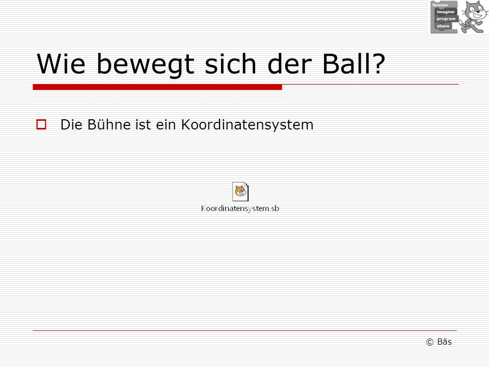 Wie bewegt sich der Ball
