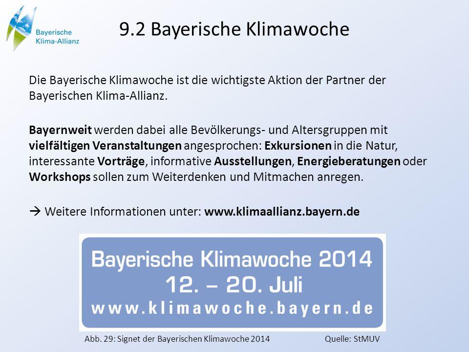 9.2 Bayerische Klimawoche