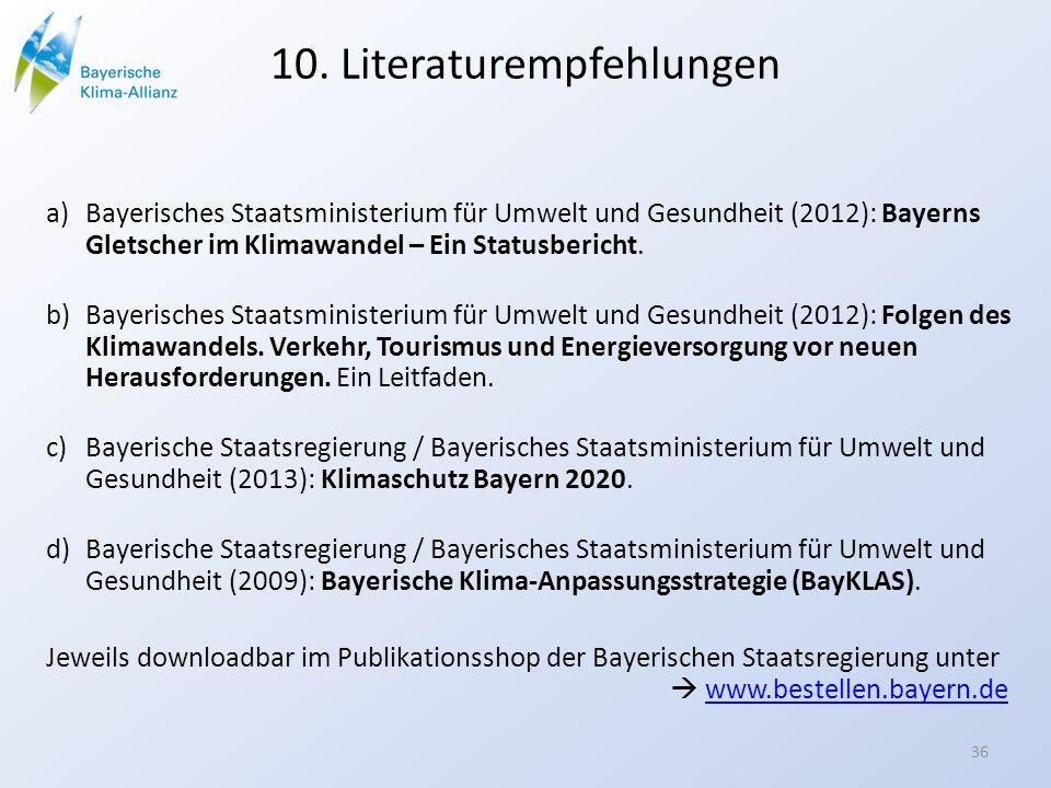 10. Literaturempfehlungen